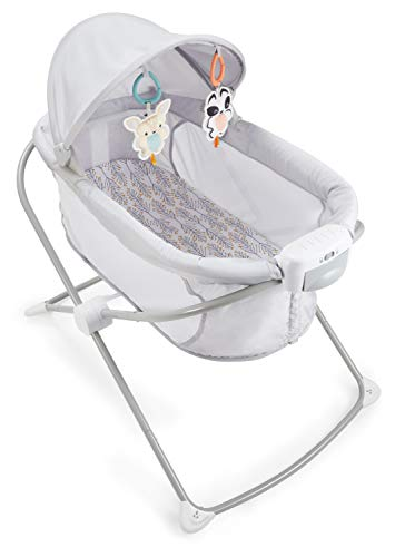 Fisher-Price Soothing View Projection Bassinet – Fawning Leaves,...