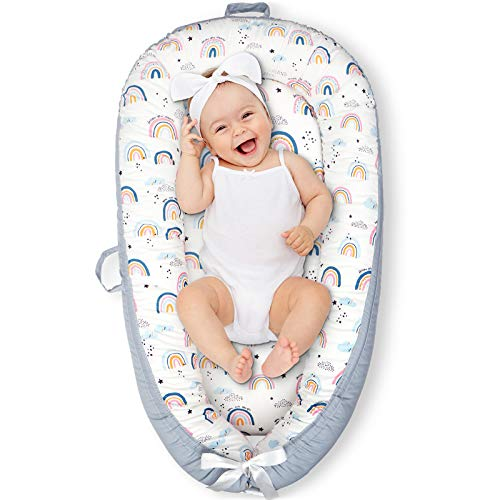 Cosy Nation Baby Lounger Baby Nest, Co Sleeping Bed for Infant, U...