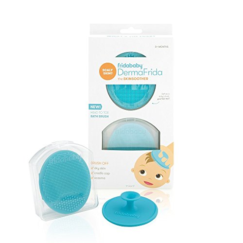 DermaFrida The SkinSoother Baby Bath Silicone Brush by Fridababy ...