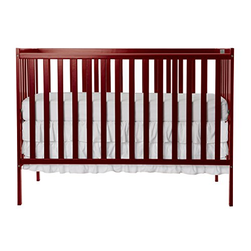 Dream On Me, Synergy 5-in-1 Convertible Crib in Cherry, Greenguar...