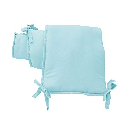EXQ Home 4-Piece Breathable Crib Liner Protector, Deluxe Crib Saf...
