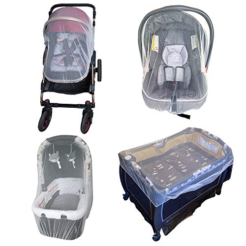Enovoe Mosquito Net for Stroller - Durable Baby Stroller Mosquito...