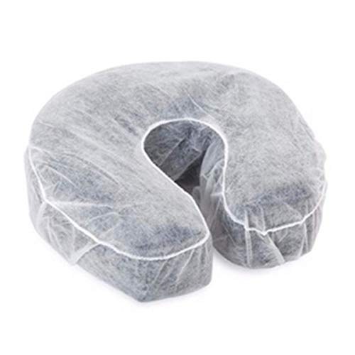 Fitted Disposable Massage Headrest Covers Face Rest Cradle Covers...