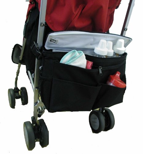 J.L. Childress Cool 'N Cargo, Universal Fit Stroller Cooler and O...