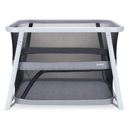 Joovy Coo Portable Bassinet, Portable Playpen, Rocks or Stay Put,...