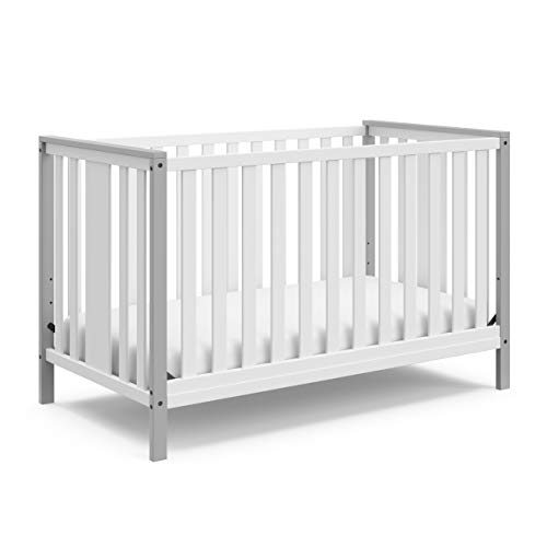 STORKCRAFT Modern Pacific 4in1 Convertible Crib Contemporary 2-To...