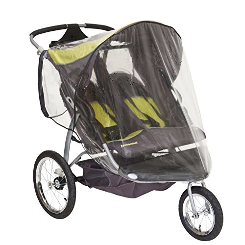 Sashas Rain and Wind Cover for Baby Trend Expedition Double Jogge...