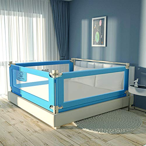 Toddler Bed Rails for Kids Baby Twin Child, Full Size Bed Fence B...