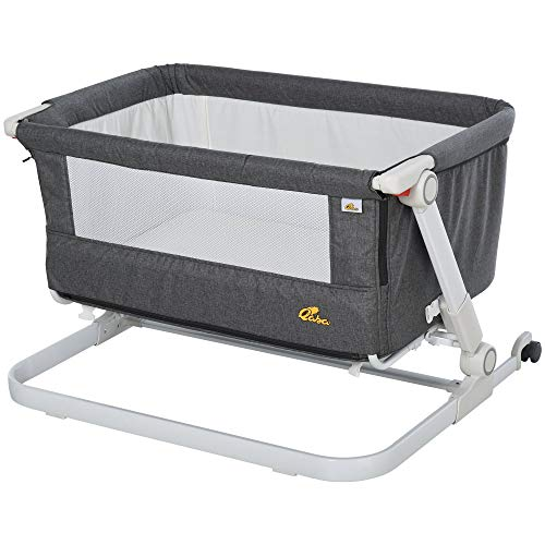 Baby Bassinets,Bedside Sleeper for Baby, Baby Crib with Storage B...