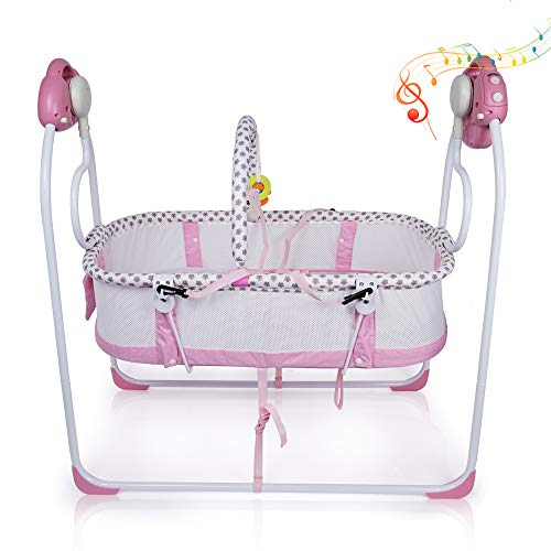 Baby Cradles Electric Bassinets,Newborns Carrier Infant Bed,Baby ...