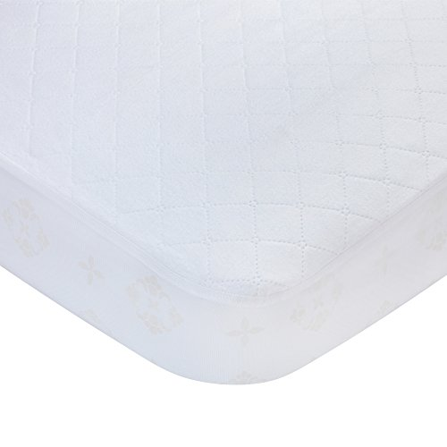 Carters Waterproof Fitted Quilted Crib and Toddler Protective Mat...