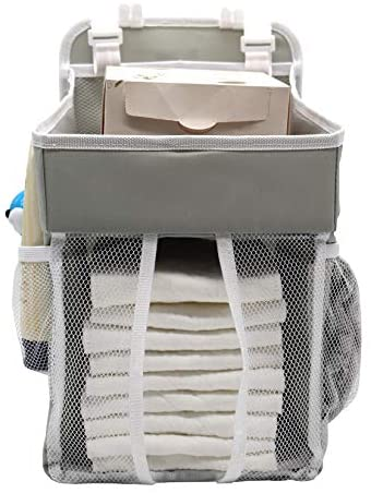 Cenland Baby Diaper Caddy and Nursery Hanging Organizers,Hanging ...