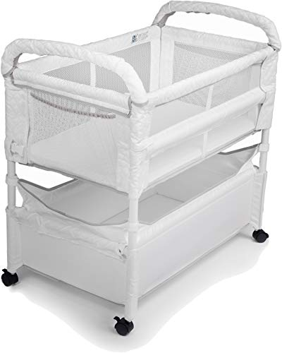 Arm's Reach Clear-Vue Co-Sleeper Bassinet for Bed Attachment with