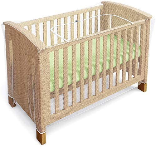 Luigi's Net for Crib - Baby Crib Net to Secure Your Baby - with Z